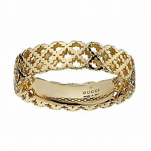 gucci diamantissima 18ct gold ring size m ernest jones With gucci wedding rings