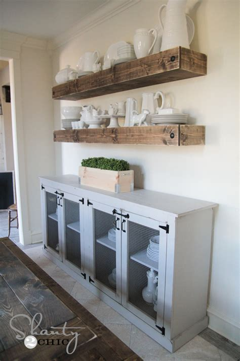 DIY Sideboard Plans Woodworking Free Plans Free