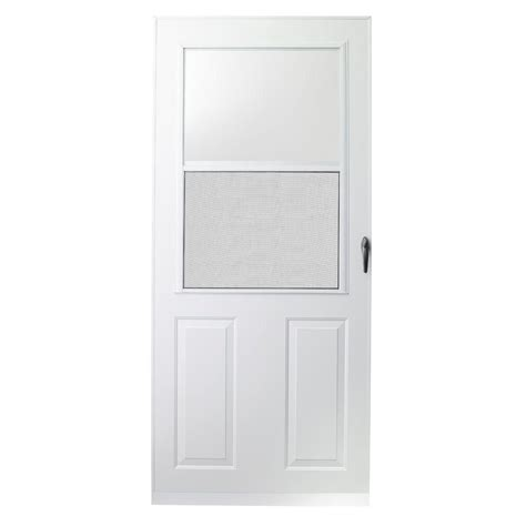 home depot doors emco 30 in x 80 in 200 series white traditional
