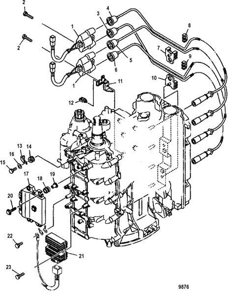 Mercury 90hp 4 Stroke Wiring Diagram by Mercury Marine 90 Hp Efi 4 Stroke Electrical Components