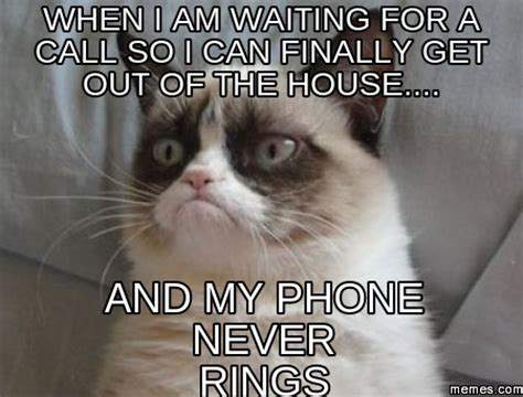 waiting by the phone meme home memes