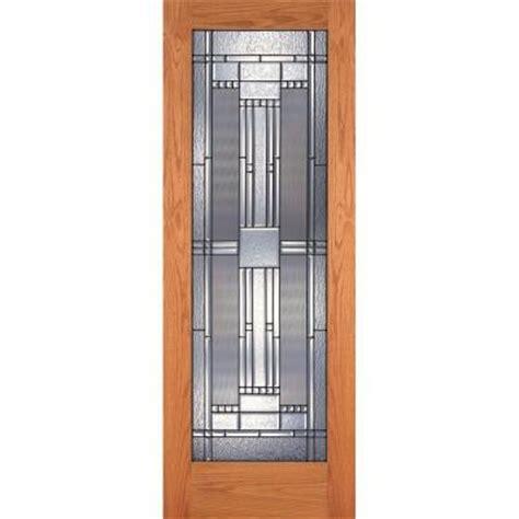 oak interior doors home depot evermark 28 in x 80 in 6 panel unfinished red oak wood interior door slab 1002001 the home depot