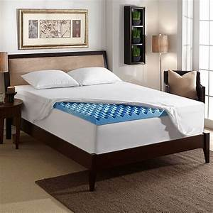 3 inch gel mattress topper with air channels sleep With do mattress toppers help