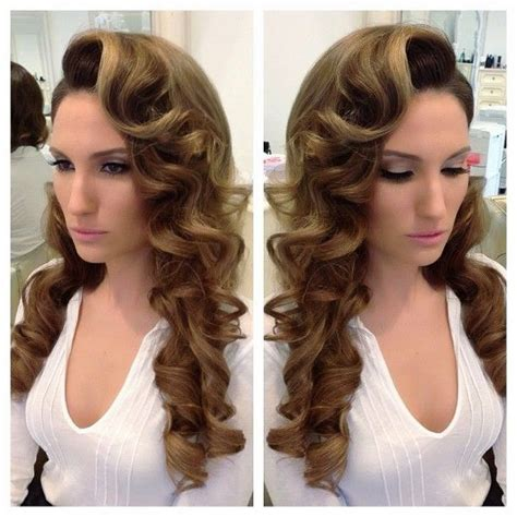 best hairstyle for wavy hair female finger wave pelo