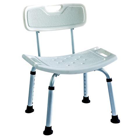 Lightweight Aluminium Deluxe Shower Stool  Bath Seat With