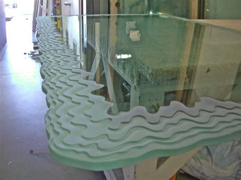 Custom Glass Table Tops Sans Soucie Art Glass