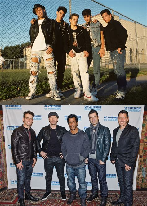 Then And Now New Kids On The Block Have The Same 'filthy