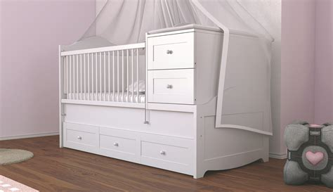 cot with mattress baby cot bed with storage www imgkid the image kid