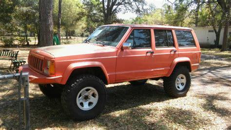 jeep cherokee orange jeep cherokee 4x4 bright orange for sale jeep cherokee