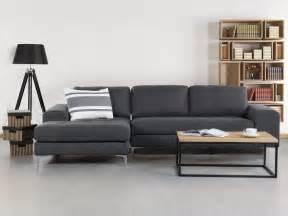 eck sofa corner sofa upholstered chaise longue grey kiruna