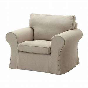 IKEA EKTORP Armchair COVER Chair Slipcover RISANE NATURAL