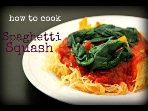 How Cook Spaghetti Squash Whole Youtube