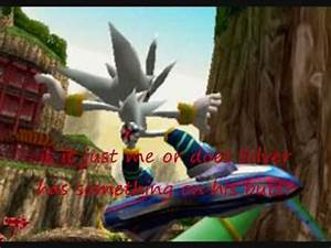 Actual proof Silver appearing in Sonic Riders:Zero Gravity ...