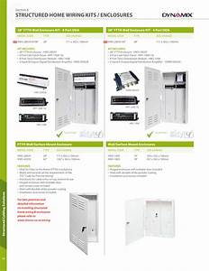 Structured Home Wiring Kits    Enclosures