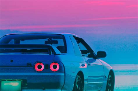 Nissan skyline r34 | nissan gtr skyline, jdm wallpaper. Outrun | Nissan gtr wallpapers, Nissan skyline, Retro waves