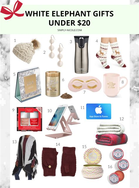 Gifts For by White Elephant Gifts 20 Simply