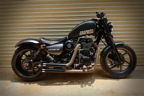Harley Davidson Iron 1200 Modification by Modified Royal Enfield Thunderbird 350 Gets Harley