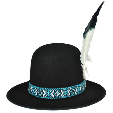 hatcrafters indian hat with plume novelty hats