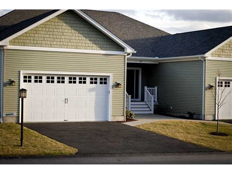 Garage Fantastic Corner Garage Design White Door Outdoor