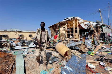 Week in Pictures: From Dakota pipeline to Somalia blast ...