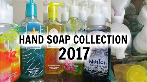 bath and works soap collection 2017