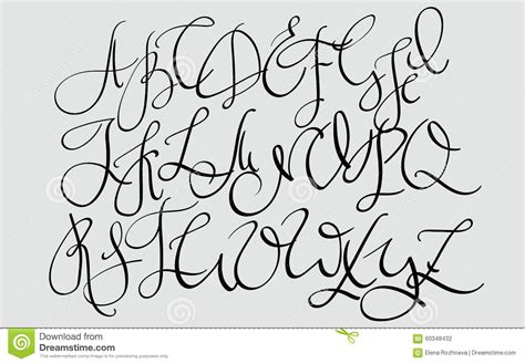 HD wallpapers cool cursive letters a z