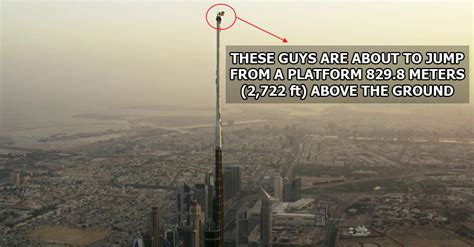 These Guys Just BASE Jumped from the Very Top of the World ...