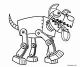 Robot Coloring Pages Dog Cool Cool2bkids Robo Dinosaur Robots Printable Sheets Paw Patrol Printables Sketch Doodle Template sketch template