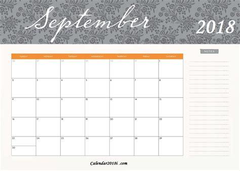 september  calendar cute monthly printable calendar