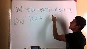 Determinante Berechnen 2x2 : determinante de 2x2 youtube ~ Themetempest.com Abrechnung