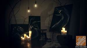 Halloween Haunted House Ideas from Love Manor - The Home Depot