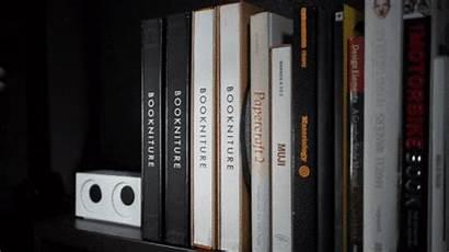 Bookniture Furniture Hidden Tabouret Kickstarter Appoint Pratique