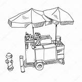 Dog Stand Illustration Vector Drawn Drawing Coloring Sketch Depositphotos Template Getdrawings sketch template