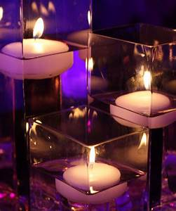 24 Floating Candles Wedding Table Reception Centerpiece