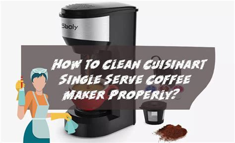 How to clean a coffee pot with vinegar includes the turning the coffee machine on. How to Clean Cuisinart Single Serve Coffee Maker Properly?
