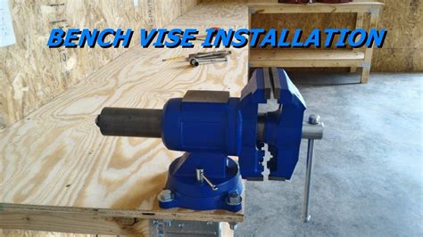 install  bench vise youtube