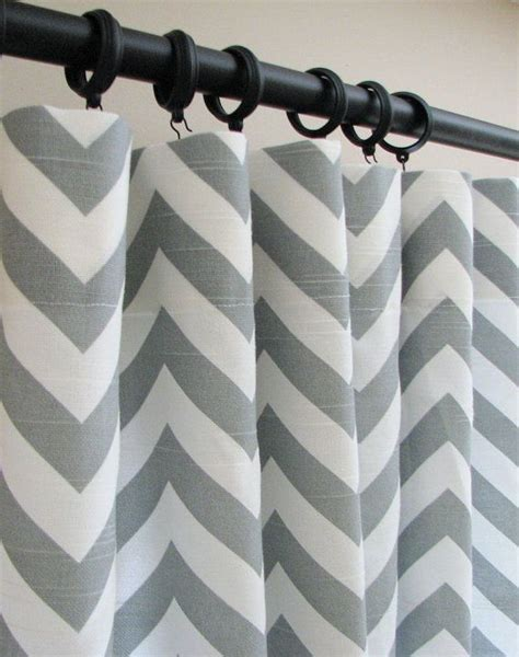 gray chevron curtains with grommets 25 best ideas about grey chevron curtains on