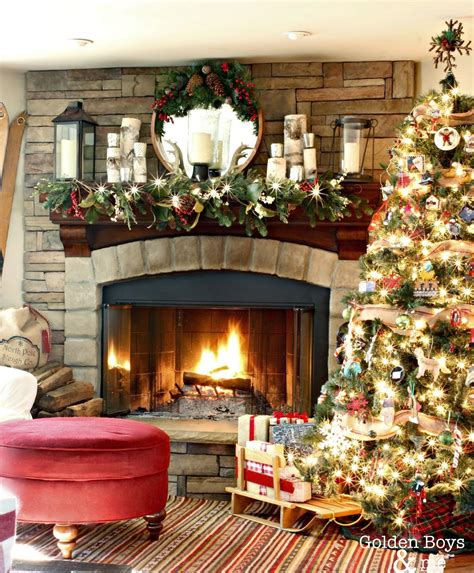 decorate inside fireplace christmas decorating inside fireplace ideas ideas clipgoo
