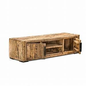 Meuble Bois Recyclé : meuble bois ancien sur mesure ~ Teatrodelosmanantiales.com Idées de Décoration