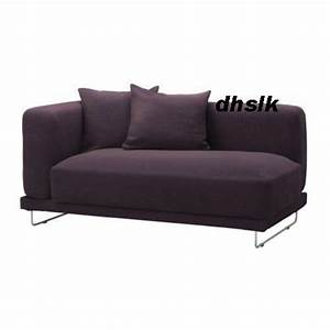 ikea tylosand 2 seat 1 arm sofa cover rephult purple With sofa arm covers canada
