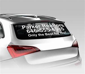 Car window lettering vinyl lettering signazon for Vinyl lettering for car windows