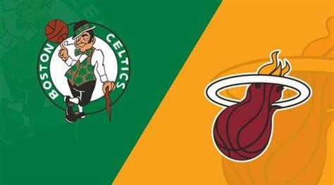 Heat-Celtics Game 1 Line Opens at Boston -3