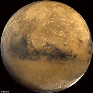 How many? The pimply face of Mars has 635,000 impact ...