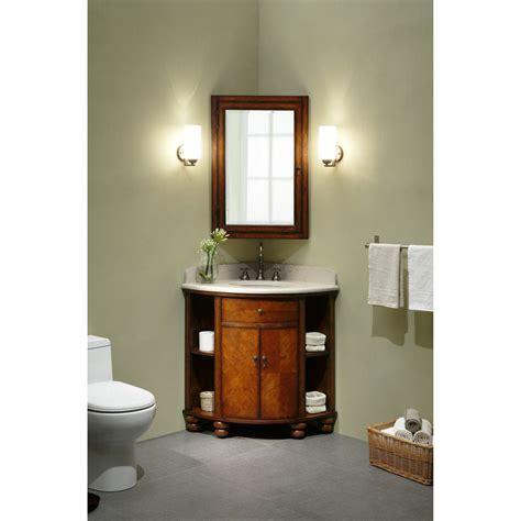 Corner Sink Bathroom Vanity by Corner Single Bathroom Vanity Home Decor Corner Sink
