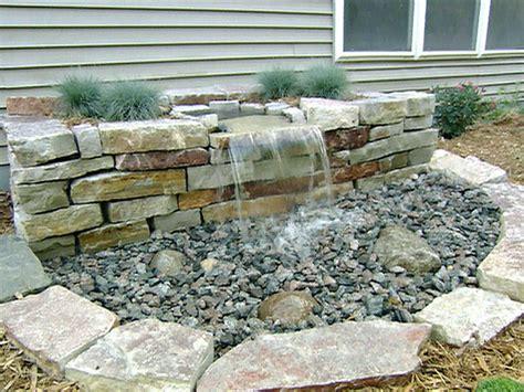 diy water fall diy front yard landscaping pondless waterfall joy studio design gallery best design