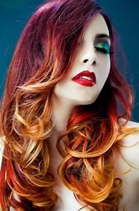 Ombré Hair Auburn : red ombre colors ombre hair hair color auburn red ombre hair ~ Dode.kayakingforconservation.com Idées de Décoration