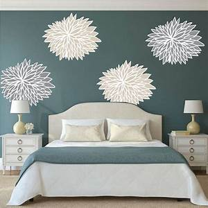 bedroom flower wall decals floral wall decal murals With flower wall decals