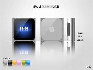 Ipod Nano 6th - Icon by lucasgomesdesouza on DeviantArt