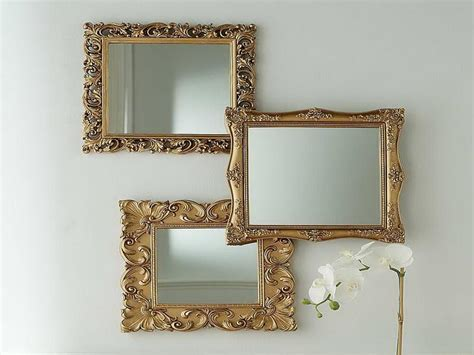 Frame Gold Color Of Decorative Mirrors For Living Room