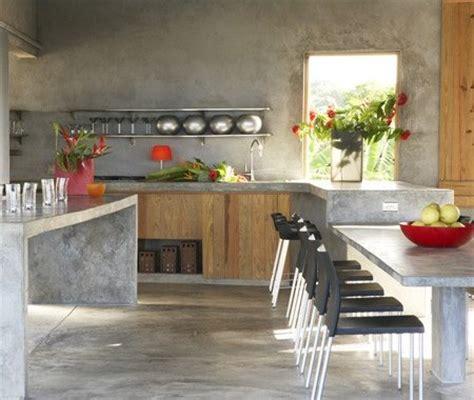 Cocinas de cemento 20 ideas y fotos